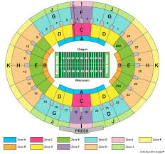 Rose Bowl Seating Map Map 2018