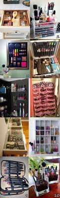 Many makeup an cosmetics organization ideas - get ideas for your  organization here