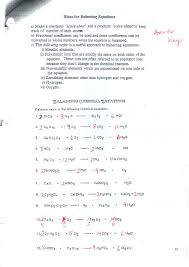 breathtaking types of chemical equations worksheet jennarocca gcse balancing workshee chemical equations worksheet worksheet large