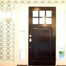 front door and sidelights basil flush mount entry door sidelight glass replacement