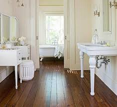 bathrooms with wood floors. Wide Plant Wood Floor In A Victorian Bathroom Repeoduction. Bathrooms With Floors
