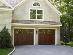 cottage garage doorsCarriage house garage doors add cottage charm