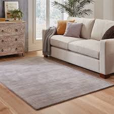 oriental weavers aniston 27108 grey solid area rug