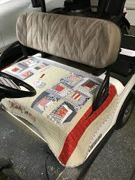 Golf Cart Seat Cover Pattern Magnificent Design Inspiration