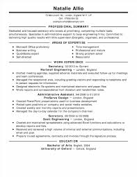 Professional Resume Samples Templates Professionals Mechanical