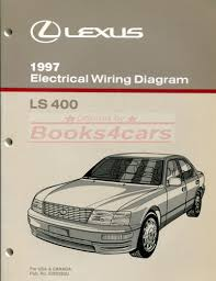 lexus manuals at books4cars com 97 ls400 electrical wiring diagram manual by lexus 97 ewd283u