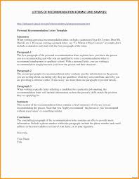 Resume Character Reference Format Inspirational Resume Character