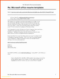 Resume Templates Office. Downloadable Microsoft Office Resume ...
