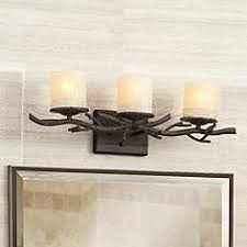 rustic bathroom vanity lights. Rustic Twig 25\ Bathroom Vanity Lights