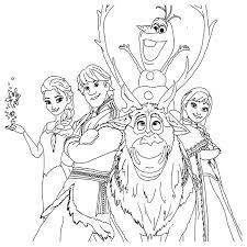 Small Picture Frozen Coloring Pages coloringrocks Free Frozen Coloring Pages