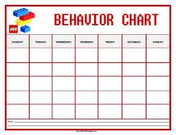 Sunday School Sticker Charts Lego Behavior Chart Free Printable Allfreeprintable Com