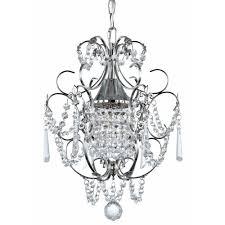 ashford classics lighting crystal mini chandelier pendant light in chrome finish 2233 26