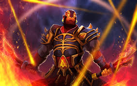wallpaper dota 2 ember spirit armor swords fire hd picture image