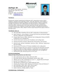 Windows Administration Sample Resume 10 Network And Computer Systems  Administrator Collection Of Solutions