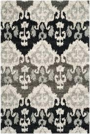 ikat rug ivory grey rug diamond ikat area rug blue cream