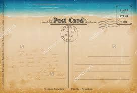 Vintage Postcards Templates 7 Vintage Postcard Templates Free Psd Ai Vector Eps