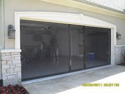 garage screen door slidersGarage Doors  Retractable Garageor Screens Lowes Screen Combo