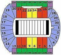 Tulsa Football Seating Chart Spartan Stadium Michigan Football Tickets For Sale Ebay