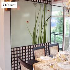 Glass Door Designs For Living Room Us 7 99 20 Off 2019 New Stained Glass Decorative Film Chinese Style Art Home Decor For Livingroom Glass Door Waterproof Removable Decal Blt113 In