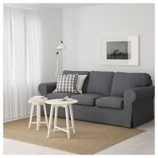 Ektorp Nordvalla Light Blue Ektorp Three Seat Sofa Nordvalla Dark Grey Ikea Hong Kong