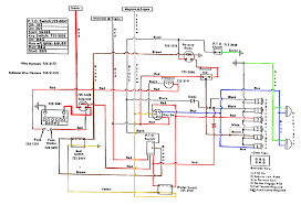 eletrical issue only cub cadets here s a wiring diagram i found