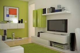 Cute And Groovy Small Space Apartment Designs Living Room Design Small Space Tv Room Design