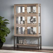 Harper Blvd Bellstrom Lighted Contemporary Curio Display Cabinet - Free  Shipping Today - Overstock.com - 20385238