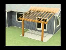 an existing concrete patio