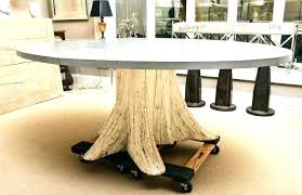 tree trunk table base tree trunk table top tree trunk table base medium size of tree tree trunk table