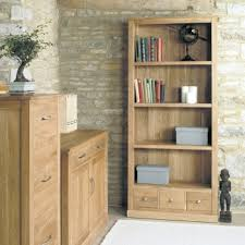 baumhaus mobel solid oak reversible mobel solid oak large 3 drawer bookcase by baumhaus baumhaus mobel oak extra