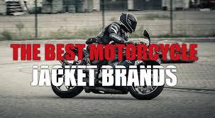 best motorcycle jacket brands
