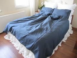 custom duvet covers denim
