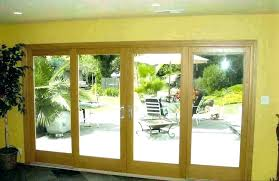 replace sliding glass door cost with french full size of repair slidi