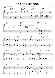 Catalog sku number of the notation is 435138. Fly Me To The Moon Sheet Music For Piano Solo Musescore Com