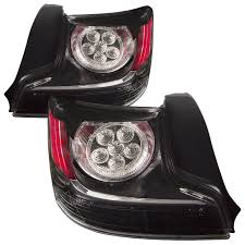 tail lights set left driver right