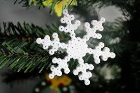 Hama Bügelperlen Weihnachten Christbaumschmuck Basteln