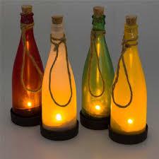 outdoor solar lighting ideas for bottles