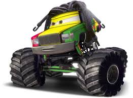 Mater And The Monster Trucks - #GolfClub