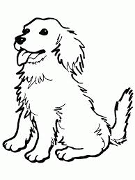 Small Picture Dog Coloring Pages For Kids