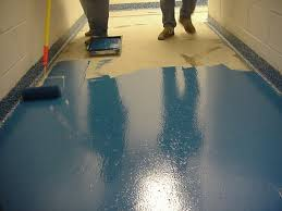 Resin Kitchen Floor Epoxy Chip Floor 737sjpg