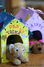 Easy to make stuffed animal carriers for kids