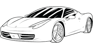 Race Car To Color Race Car Pictures To Color Free Race Car Coloring