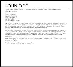 Retail Associate Cover Letter Cover Letter For Retail Sales Associate Email Cover Letter For