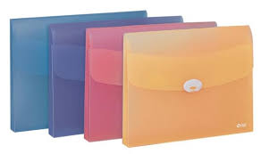 office paper holders. A4 Enclosed Wallet File With Button Clip Office Paper Holders