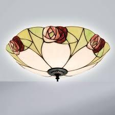 tiffany flush ceiling lights uk. ingram flush ceiling fitting tiffany lights uk y