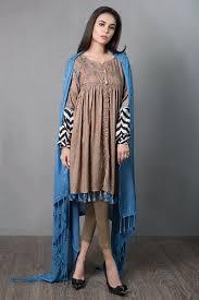New Dress Design Collection 2018 Latest Maria B Pret Stitched Summer Dresses Designs 2019 20