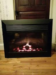 smart electric fireplace mantels lovely used dimplex electric fireplace insert model dfb6016 wi for