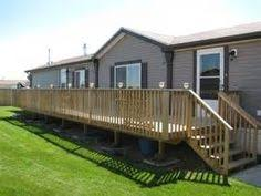 mobile home deck designs. a large and long deck for mobile home. (diy step home) home designs pinterest