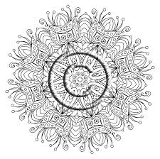 Digital Download Coloring Page Hand Drawn