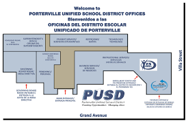 Office Map District Office Map About Pusd Porterville Unified School District